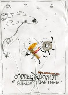 Dunkin' Donuts Coffee Shop: Space