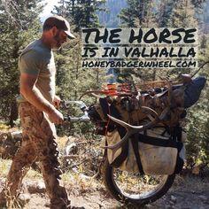 Honey Badger Wheel   Big Game Cart for Hunting Elk and Deer