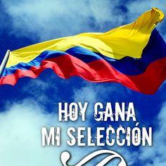 Hoy gana mi #selección, vamos Colombia!!! #unidosporunpais #yocreo #lacopadetodos #fútbol #mundial #brasil2014