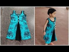 3 piece Aline frock cutting and stitching Baby Frock Pattern, Frock Patterns, Baby Girl Dress Patterns, Designer Blouse Patterns, Girls Frock Design, Kids Frocks Design, Baby Frocks Designs, Baby Dress Design, Cotton Frocks For Girls