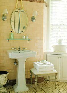 pale yellow bathrooms on pinterest yellow bathroom