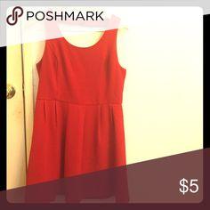 Red Dress Red Dress Forever 21 Dresses Midi