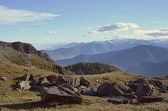 Val Chisone (TO) - Panorama nei pressi del Lago Laus