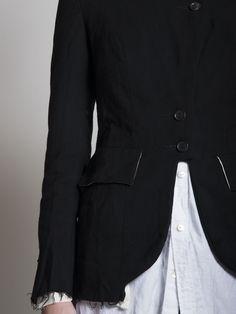Elena Dawson FW14 WOMEN | Tab Jacket | Long Shirt  #ElenaDawson #BlackCelebration # BlackCelebrationStore  blackcelebrationstore.com