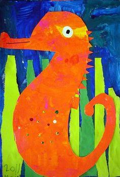 One Crayola Short: Artist: Eric Carle's Mr. Seahorse