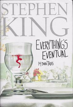 Everything's Eventual by Stephen King Hardcover Dust Jacket Large Print Edition