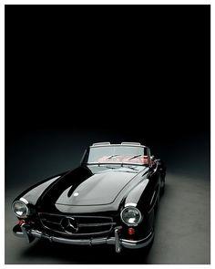 Mercedes Benz #190SL. Pic ©instagram (photosbyteej) / #190SLRestorations #BruceAdams190SL