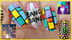 Bang Bang - Jessie J, Ariana Grande, Nicki Minaj | Nail Art Tutorial