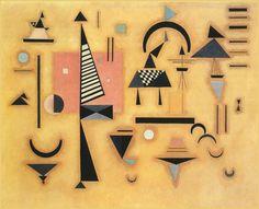 Rosa Dominante - 1932 - Kandinsky Vassili - Opere d'Arte su Tela - Listino prodotti - Digitalpix - Canvas - Art - Artist - Painting