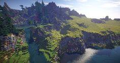 Dracyln | Massive 5k x 5k landscape Minecraft Project