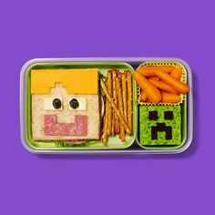 Minecraft Lunch...How cool is this?!?