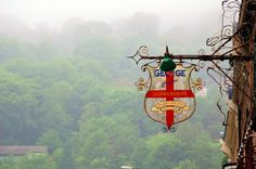 A misty morning in Matlock Bath, Derbyshire; photo by Duncan Harris