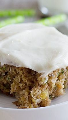 Pineapple Zucchini Sheet Cake with Cream Cheese Frosting