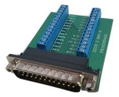 Zeon 2 94v-0 Custom 25-pin Serial Port Adapter PR16D004G0