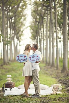 Proposal ideas and inspiration on pinterest surprise for Surprise engagement photo shoot