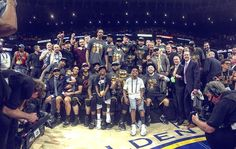 FIRST of 33 teams to ever overcome a 3-1 #NBAFinals deficit.  FOURTH to win Game 7 as road warriors. #NBAChampions  We wouldn't have our 100th playoff victory in #CavsHistory go down any other way. #OneForTheLand