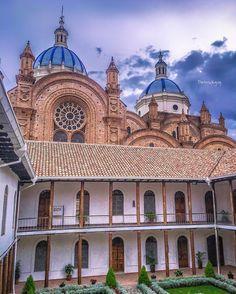 Catedral de #Cuenca #Ecuador #AllYouNeedIsEcuador #iPhoneonly #fb #photooftheday