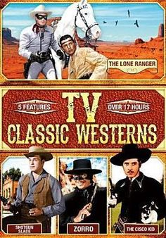 This collection includes over 17 hours' worth of classic Western television serials featuring The Lone Ranger, Shotgun Slade 60s Tv Shows, Old Shows, Great Tv Shows, Cowboy Films, Nostalgia, The Lone Ranger, Tv Westerns, Vintage Tv, Old Tv