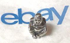 Authentic Pandora Sterling Silver 925 ALE Lucky Buddha 790478 Charm SMILING rare #Pandora Pandora Charms, Ale, Buddha, Jewelry Watches, Silver Rings, Fashion Jewelry, Charmed, Sterling Silver, Ebay