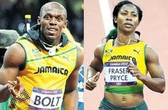 09a14a49b99 Bolt   Fraser-Pryce receive Golden Cleats award Fraser Pryce