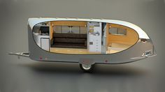 A Modern Travel Trailer: A mobile home for modern adventurers, Bowlus' Road Chief is your secret weapon for stylish, comfortable staycations and short- or long-term adventures you can drive to