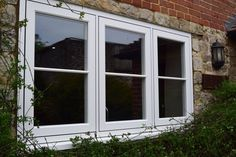 Grained White Residence 9 windows installed by Maidstone Windows House Windows, Windows And Doors, Window Ideas, Exterior Design, New Homes, Colours, Bedroom, Street, Image