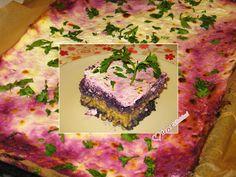 Ízzel-lélekkel készült receptek: Rakott lilakáposzta bulgurral Kohls, Quiche, Cabbage, Breakfast, Food, Bulgur, Morning Coffee, Essen, Quiches