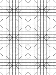 Quilt Coloring Book Pages Of Patterns