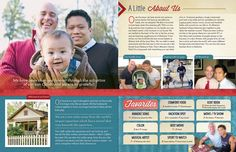 Our Chosen Child adoption profile sample- Traditional meets modern and some fabulous photos!