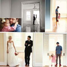 بن نانري أرمل أمريكي يعيد تصوير لقطات زفافه مع ابنته أوليفيا (3 سنوات) لـ إحياء ذكرى زوجته الراحلة والتي توفيت عام 2011 بسرطان الرئتين فى نفس الأماكن وبالحركات نفسها .