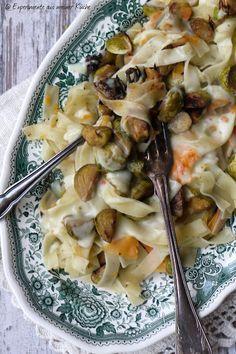 Experimente aus meiner Küche: Gemüsepasta mit Käsesoße