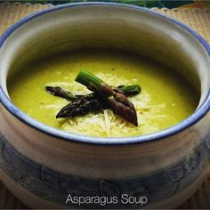 Asparagus Soup… – You Betcha Can Make This!