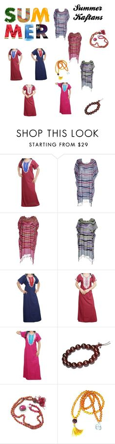 Kaftans for Summer by tarini-tarini on Polyvore featuring dresses, caftan, kaftan, sale and offer