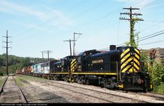 Changes to the string of ALCOs sitting at Delaware Lackawanna's shops. Work has started on an FA, ex KB&S is waiting for work. Seems like Colangelo has a surprise every week.