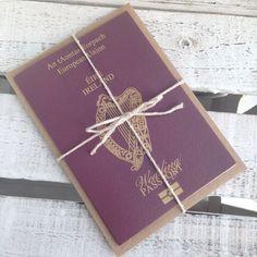 Ireland Wedding Passport Invitations Invites Day by BYINVITATIONLY  http://www.etsy.com/shop/BYINVITATIONLY
