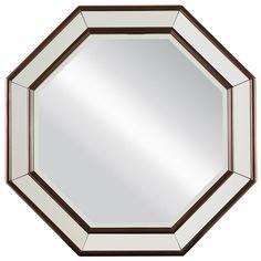 Stanley Furniture Hudson Street Octagonal Mirror