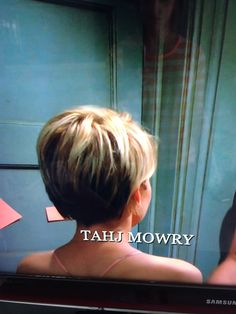 Back of Chelsea Kane hair in baby daddy