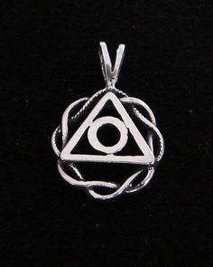 Sterling Silver Family Recovery Al Anon Symbol Celtic Knot Pendant 12 Step | eBay