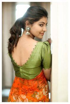 Indian Blouse Designs, Cotton Saree Blouse Designs, Choli Blouse Design, Simple Blouse Designs, Stylish Blouse Design, Latest Blouse Designs, Blouse Back Neck Designs, Pattern Blouses For Sarees, Latest Blouse Patterns