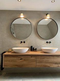 Nieuwe badkamers | Lifs House Bathroom, Bathroom Inspiration Modern, Bathroom Vanity Designs, Bathroom Inspiration Decor, Bathroom Plans, Modern Vintage Bathroom, Bathroom Design Small, Bathroom Decor, Beautiful Bathrooms