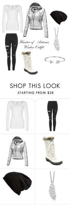 """Hunter of Artemis winter outfit"" by julia-a-grossman on Polyvore featuring G-Star, Topshop, Steve Madden, Free People, Kevin Jewelers and Bling Jewelry"