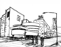 Arte y Arquitectura: Croquis por Fabricio Contreras Ansbergs