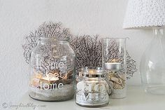 easy beach lanterns diy, design d cor, diy home crafts
