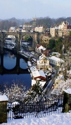 Knaresborough, North Yorkshire, England. Our tips for 25 fun things to do in England: http://www.europealacarte.co.uk/blog/2011/08/18/what-to-do-england/