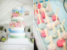 Tanya and Liam's Pretty Cake and Cake Pops Captured by Brosnan Photographic