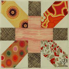 X & + quilt square example