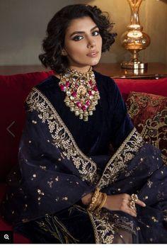 Pakistani designer velvet shalwar kameez on Mercari Pakistani Wedding Outfits, Pakistani Dresses, Velvet Pakistani Dress, Boutique Shirts, Suit Shirts, Pakistani Designers, Shalwar Kameez, Winter Collection, Dress Outfits