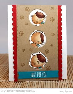 Blueprints 23 Die-namics, I Knead You Die-namics, I Knead You, Paw Print Background - Amy Rysavy  #mftstamps