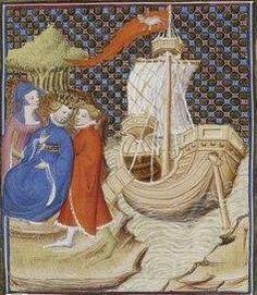 Giovanni Boccaccio, De Claris mulieribus; Paris Bibliothèque nationale de France MSS Français 598; French; 1403, 18r. http://www.europeanaregia.eu/en/manuscripts/paris-bibliotheque-nationale-france-mss-francais-598/en