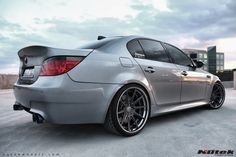 Nutek Forged Wheels | Series 710 Concave BMW M5 photo: Project M5 Series 710 Concave 3pc forged wheels, custom finish dark tint with black chrome step lip. For more info check us out at www.nutekwheels.com This photo was uploaded by NutekForged
